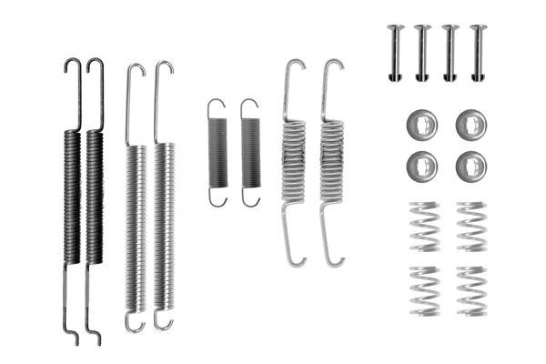 Kit de montage machoires de frein BOSCH 1 987 475 242 (X1)