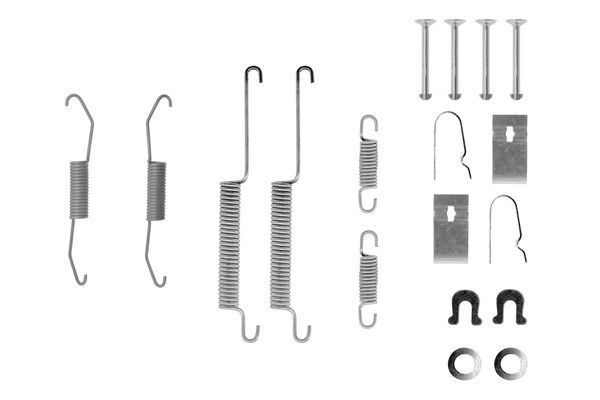 Kit de montage machoires de frein BOSCH 1 987 475 243 (X1)