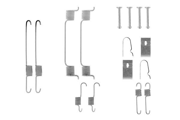 Kit de montage machoires de frein BOSCH 1 987 475 245 (X1)