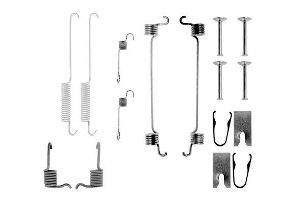 Kit de montage machoires de frein BOSCH 1 987 475 254 (X1)