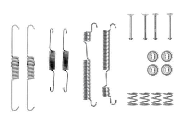 Kit de montage machoires de frein BOSCH 1 987 475 260 (X1)