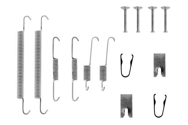 Kit de montage machoires de frein BOSCH 1 987 475 261 (X1)