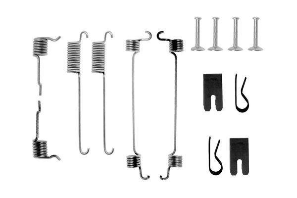 Kit de montage machoires de frein BOSCH 1 987 475 262 (X1)