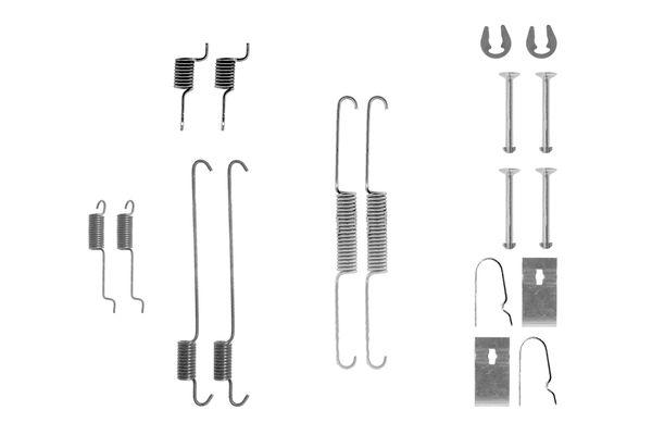 Kit de montage machoires de frein BOSCH 1 987 475 290 (X1)