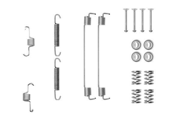 Kit de montage machoires de frein BOSCH 1 987 475 294 (X1)