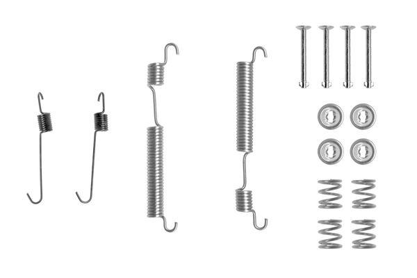 Kit de montage machoires de frein BOSCH 1 987 475 296 (X1)