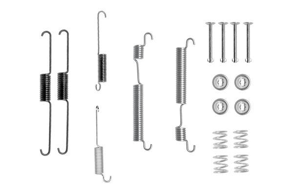 Kit de montage machoires de frein BOSCH 1 987 475 298 (X1)