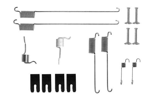 Kit de montage machoires de frein BOSCH 1 987 475 302 (X1)