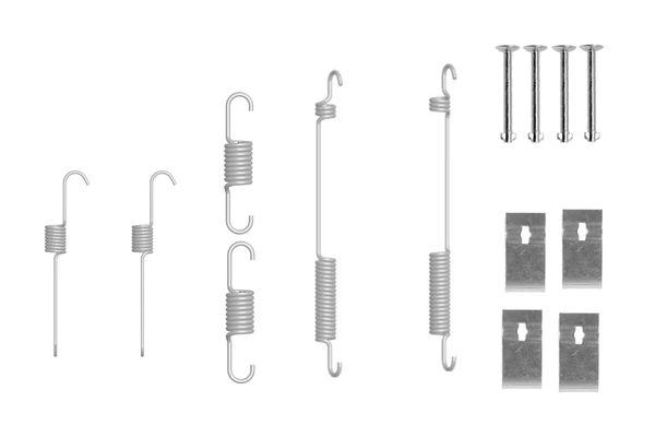 Kit de montage machoires de frein BOSCH 1 987 475 310 (X1)