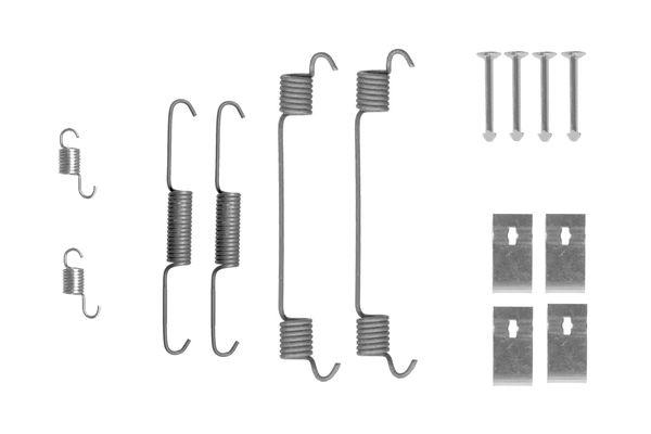 Kit de montage machoires de frein BOSCH 1 987 475 314 (X1)
