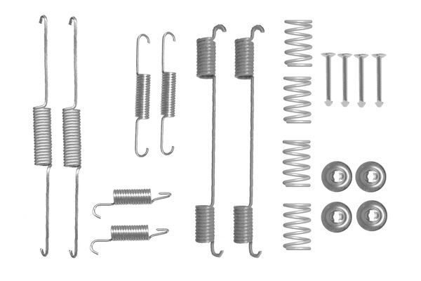 Kit de montage machoires de frein BOSCH 1 987 475 315 (X1)