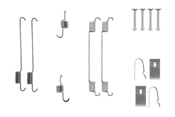 Kit de montage machoires de frein BOSCH 1 987 475 323 (X1)