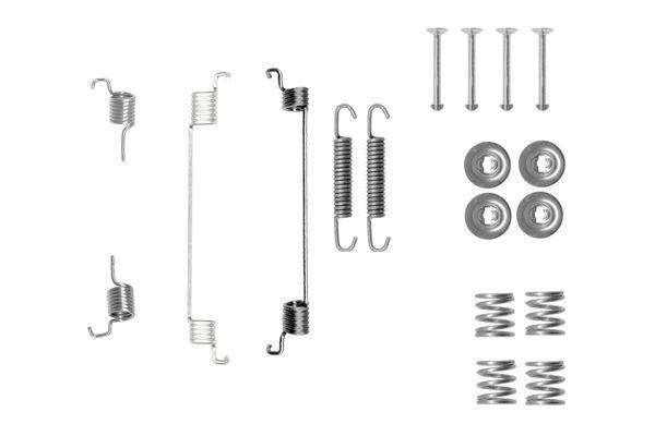 Kit de montage machoires de frein BOSCH 1 987 475 330 (X1)