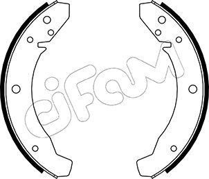 kit de frein arrière simple ou prémonté CIFAM 153-459 (Jeu de 4)