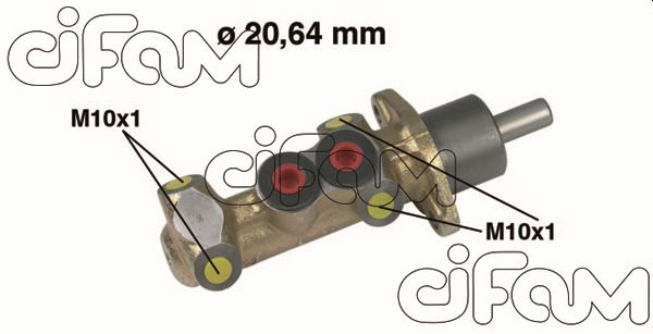 Maitre-cylindre CIFAM 202-044 (X1)