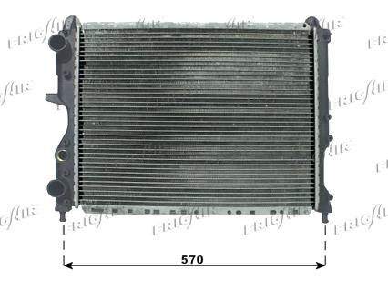 Radiateur de refroidissement FRIGAIR 0104.3083 (X1)