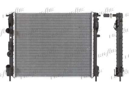Radiateur de refroidissement FRIGAIR 0109.3072 (X1)