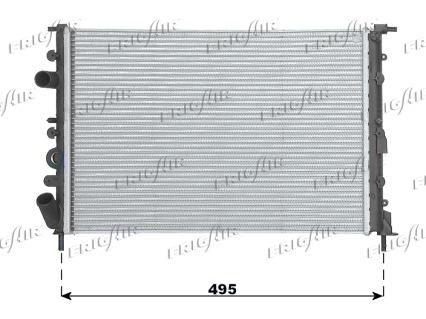 Radiateur de refroidissement FRIGAIR 0109.3079 (X1)