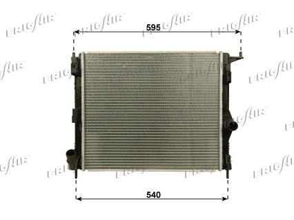 Radiateur de refroidissement FRIGAIR 0109.3116 (X1)