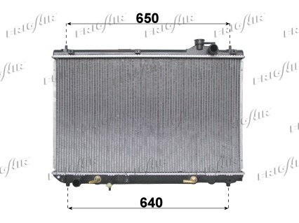 Radiateur de refroidissement FRIGAIR 0115.3084 (X1)