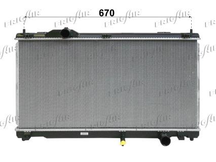 Radiateur de refroidissement FRIGAIR 0115.3178 (X1)