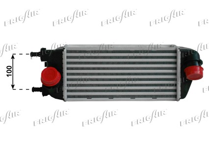 Intercooler radiateur de turbo FRIGAIR 0704.3045 (X1)