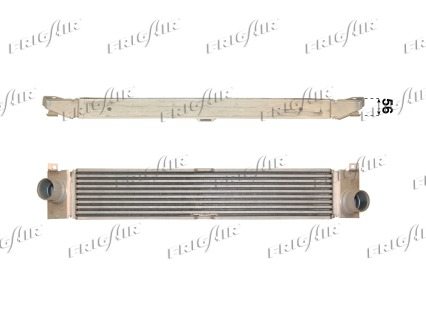 Intercooler radiateur de turbo FRIGAIR 0704.3048 (X1)