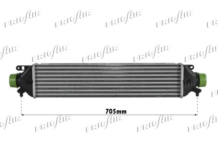 Intercooler radiateur de turbo FRIGAIR 0704.3124 (X1)
