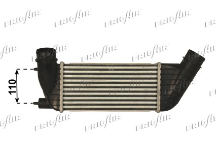 Intercooler radiateur de turbo FRIGAIR 0704.3130 (X1)