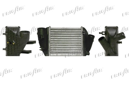 Intercooler radiateur de turbo FRIGAIR 0710.3050 (X1)