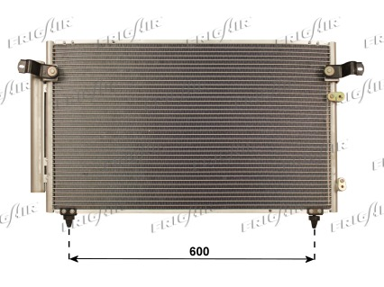 Condenseur / Radiateur de climatisation FRIGAIR 0815.3045 (X1)