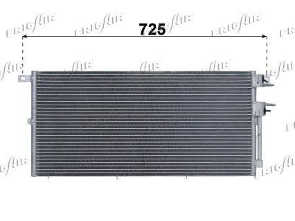 Condenseur / Radiateur de climatisation FRIGAIR 0829.2009 (X1)