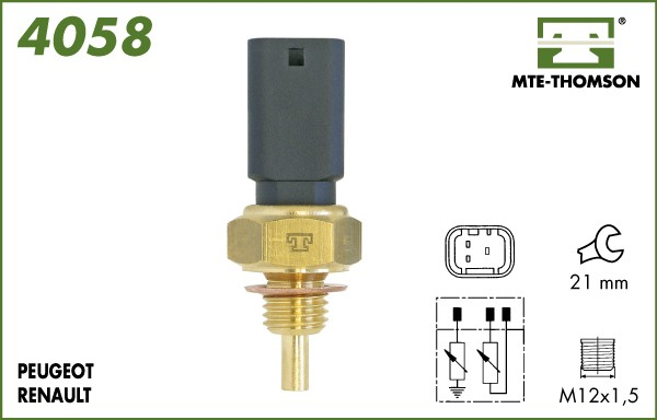 Refroidissement MTE-THOMSON 4058 (X1)