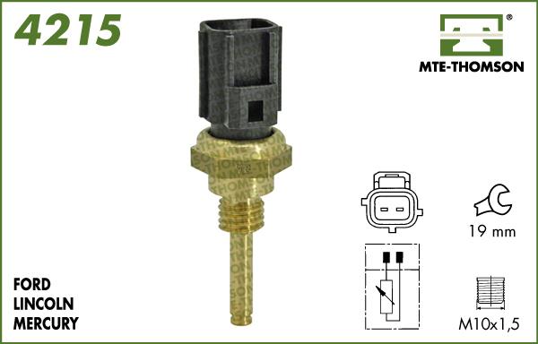 Capteur, température de la culasse MTE-THOMSON 4215 (X1)