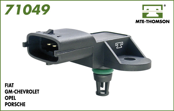Capteur, pression du tuyau d'admission MTE-THOMSON 71049 (X1)