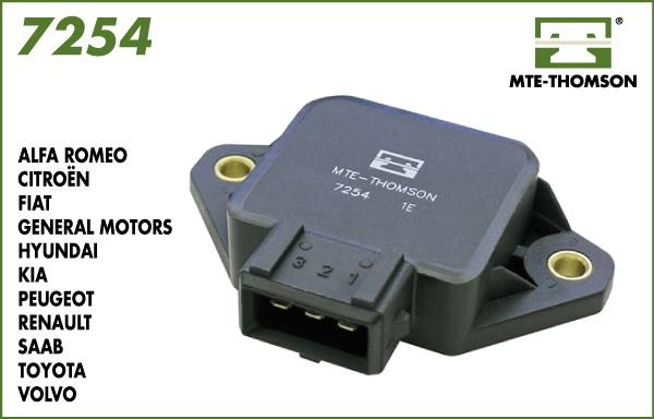 Capteur de position MTE-THOMSON 7254 (X1)
