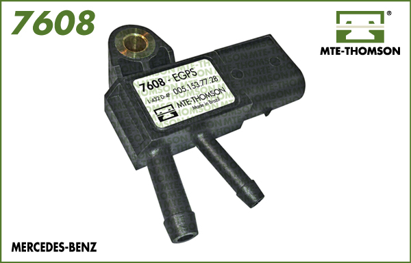 Capteur, pression des gaz échappement MTE-THOMSON 7608 (X1)