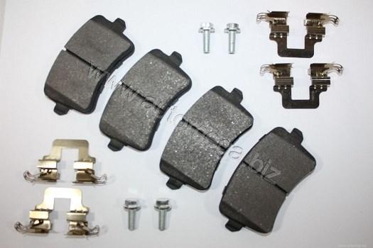 Plaquettes de frein arriere AUTOMEGA 120046210 (X1)