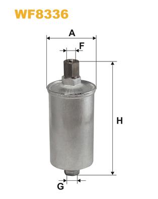 Filtre a carburant WIX FILTERS WF8336 (X1)