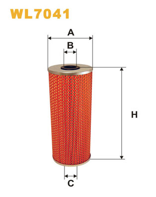 Filtre a huile WIX FILTERS WL7041 (X1)