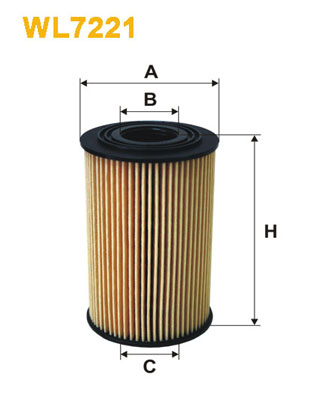 Filtre a huile WIX FILTERS WL7221 (X1)