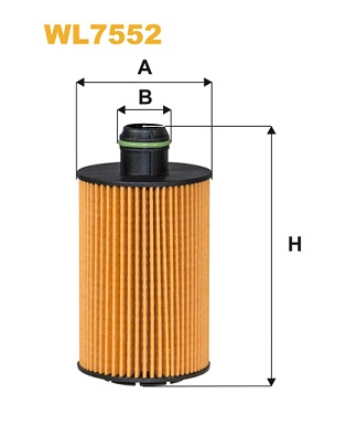 Filtre a huile WIX FILTERS WL7552 (X1)