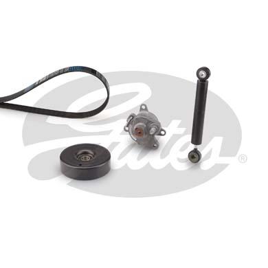 Kit de courroie d'accessoire GATES K016PK2153 (X1)