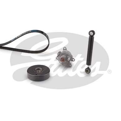 Kit de courroie d'accessoire GATES K036PK2053 (X1)