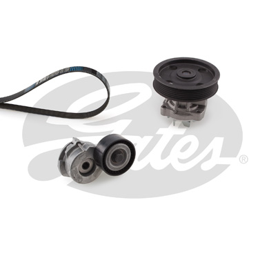 Pompe à eau + jeu de courroie d'accessoires GATES KP16PK1320 (X1)