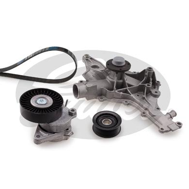 Pompe à eau + jeu de courroie d'accessoires GATES KP16PK2390 (X1)