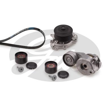 Pompe à eau + jeu de courroie d'accessoires GATES KP17PK2035-1 (X1)