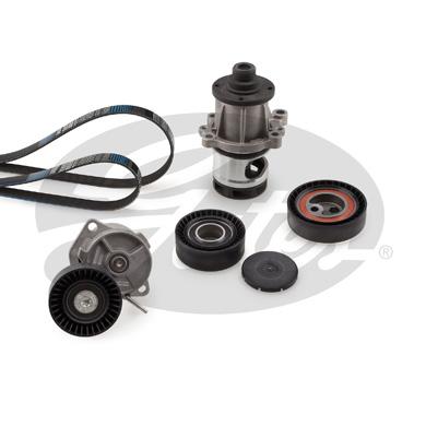 Pompe à eau + jeu de courroie d'accessoires GATES KP236PK1735 (X1)