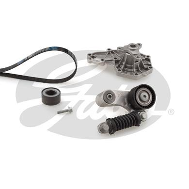Pompe à eau + jeu de courroie d'accessoires GATES KP26PK1640 (X1)