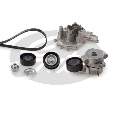 Pompe à eau + jeu de courroie d'accessoires GATES KP26PK1670 (X1)